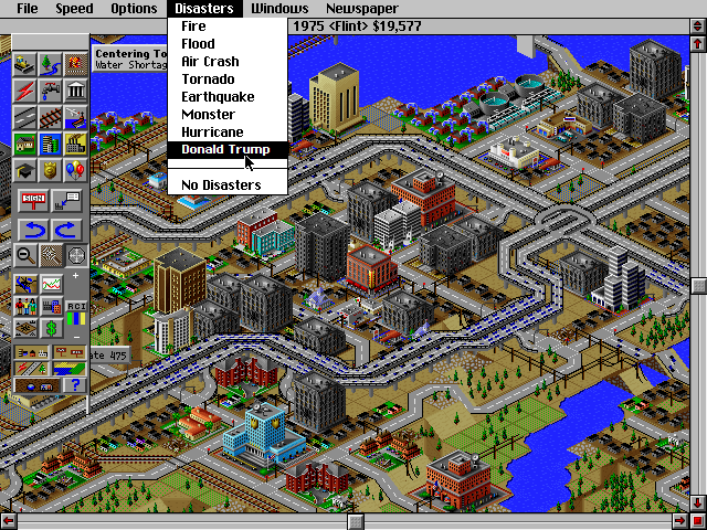 My Favorite Disaster to use in Sim City 2000 https//i