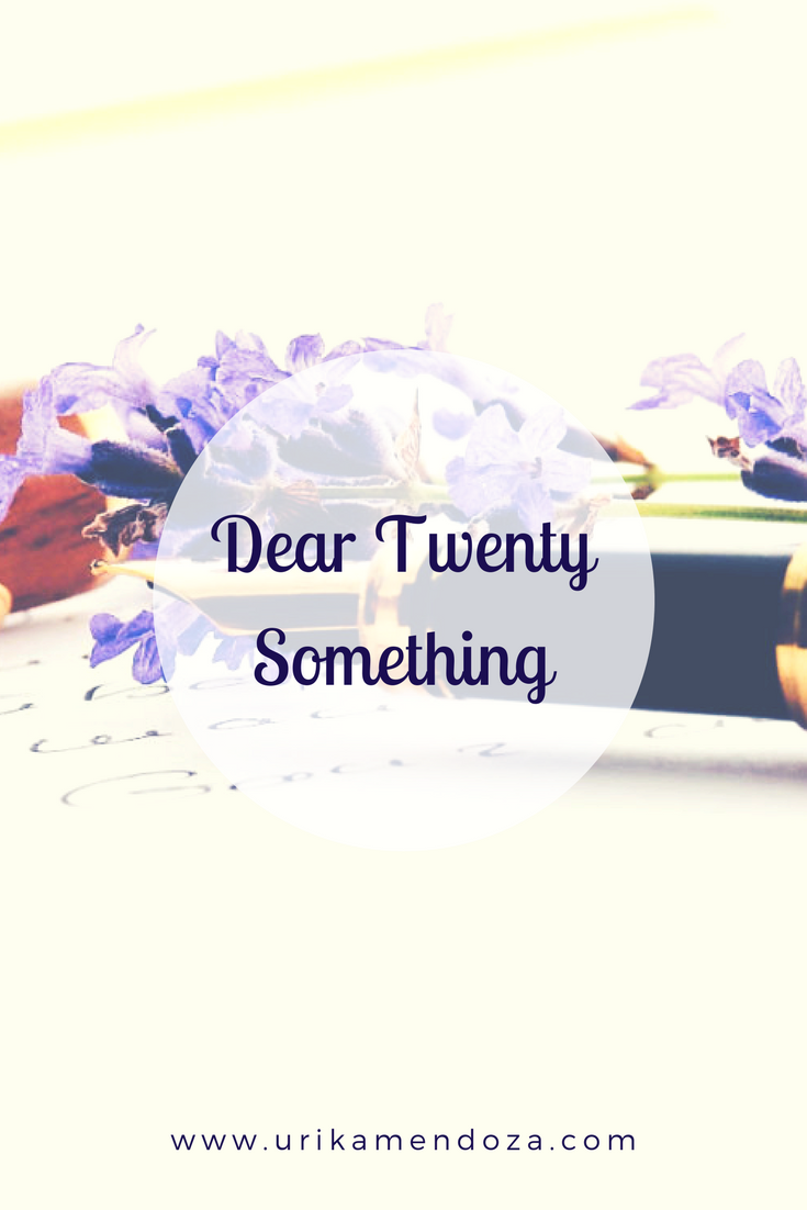 Dear Twenty Something This One S For You Beyond Twenteen The Twenties Are You The One Inspirational Blogs
