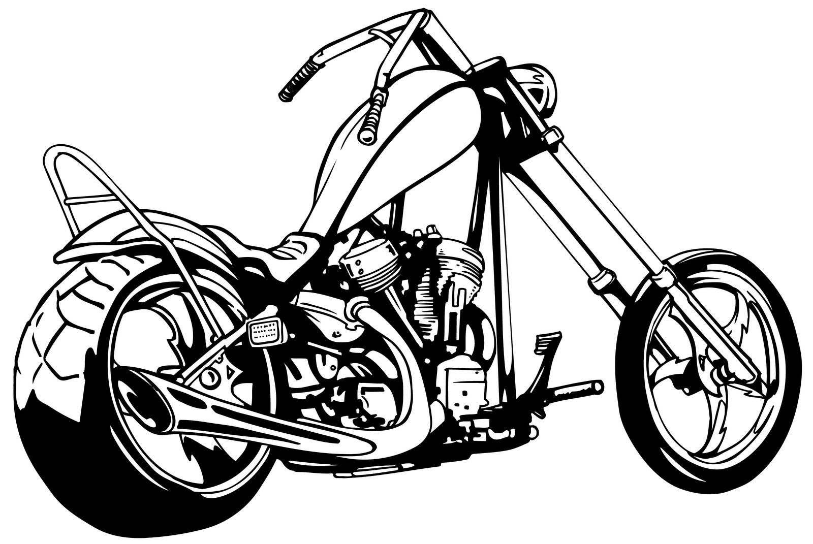 26+ Harley davidson motorcycle clipart free information