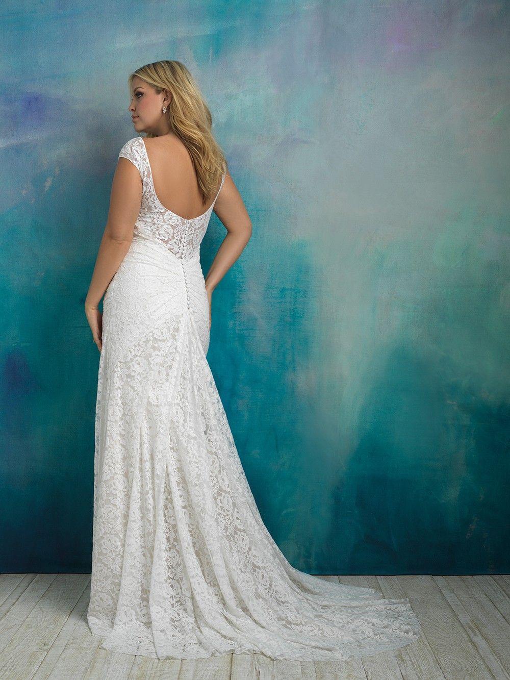 Allure wedding dress  Allure Bridals  Dress Style W weddingdresses wedding bride