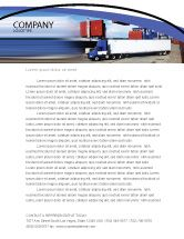 CarsTransportation Seaport Letterhead Template   Desktop