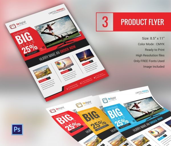 Product_Flyer 1 corporate templates Pinterest Template and - advertisement flyer template