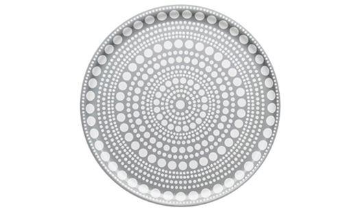 Kastehelmi Tray 35cm Light Grey