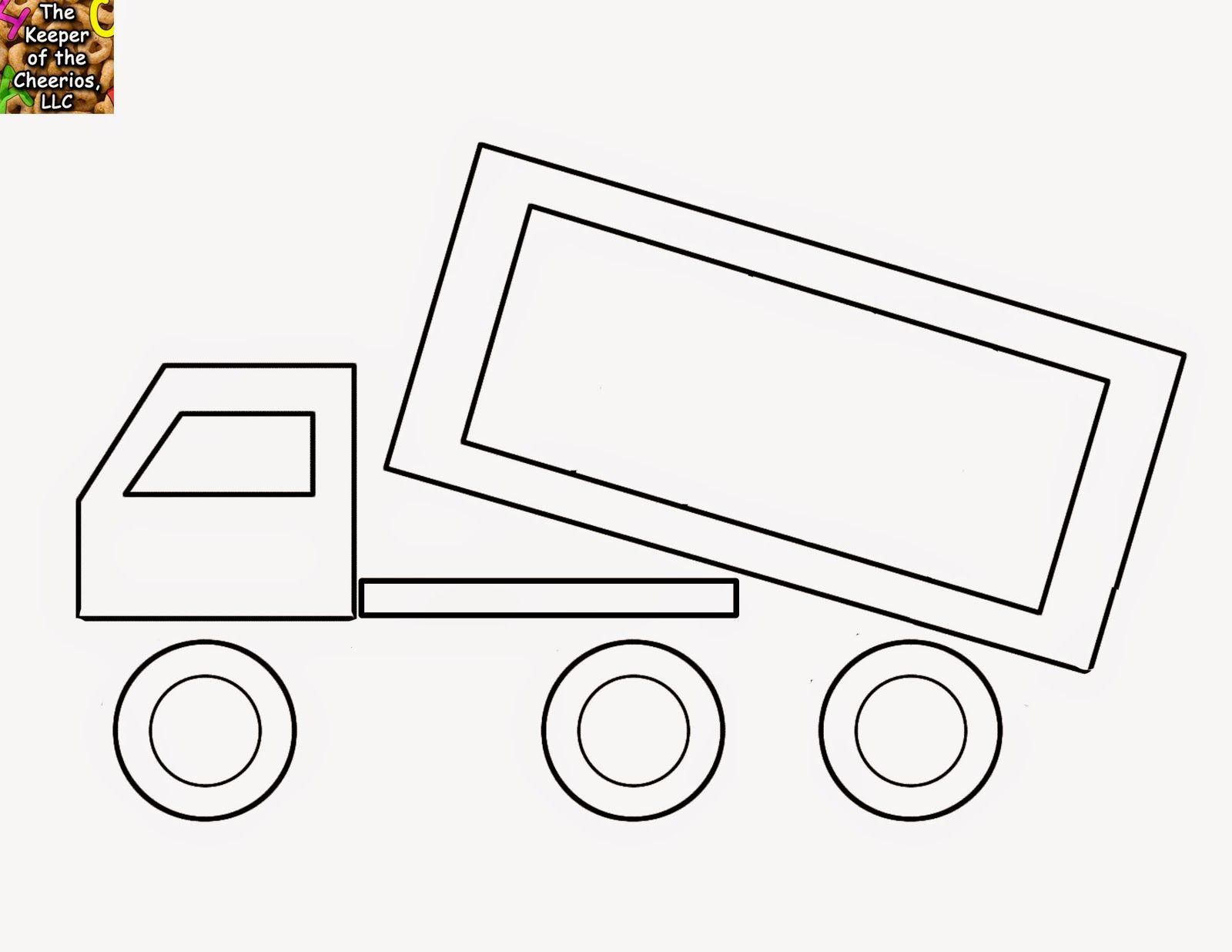 Dump Truck Shape Matching Identification Craft