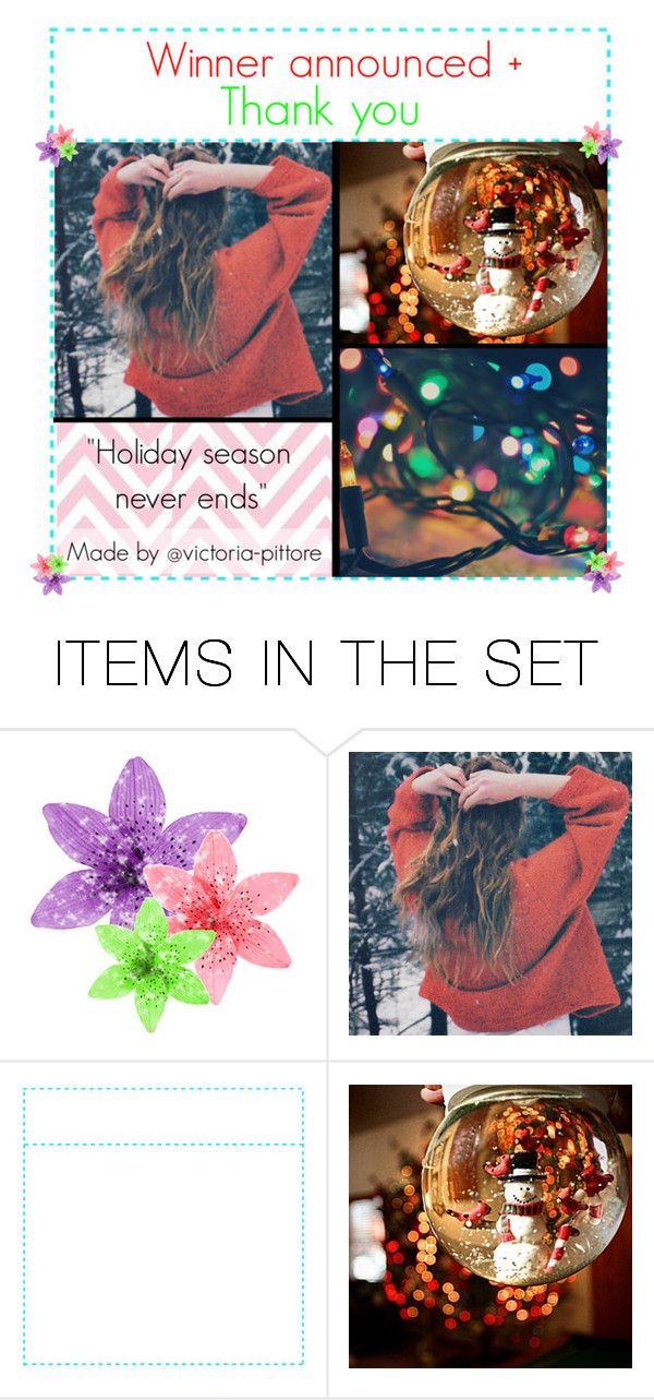 """""""Winner announced + Thank you"""" by victoria-pittore ❤ liked on Polyvore featuring art, polyvorecommunity, polyvoreeditorial and winter2015"""