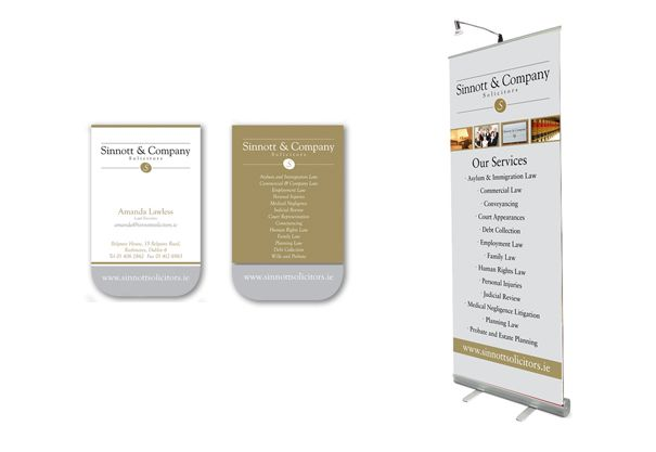 Category business cards and pull up banner dublin ireland client category business cards and pull up banner dublin ireland client sinnott company solicitors reheart Gallery