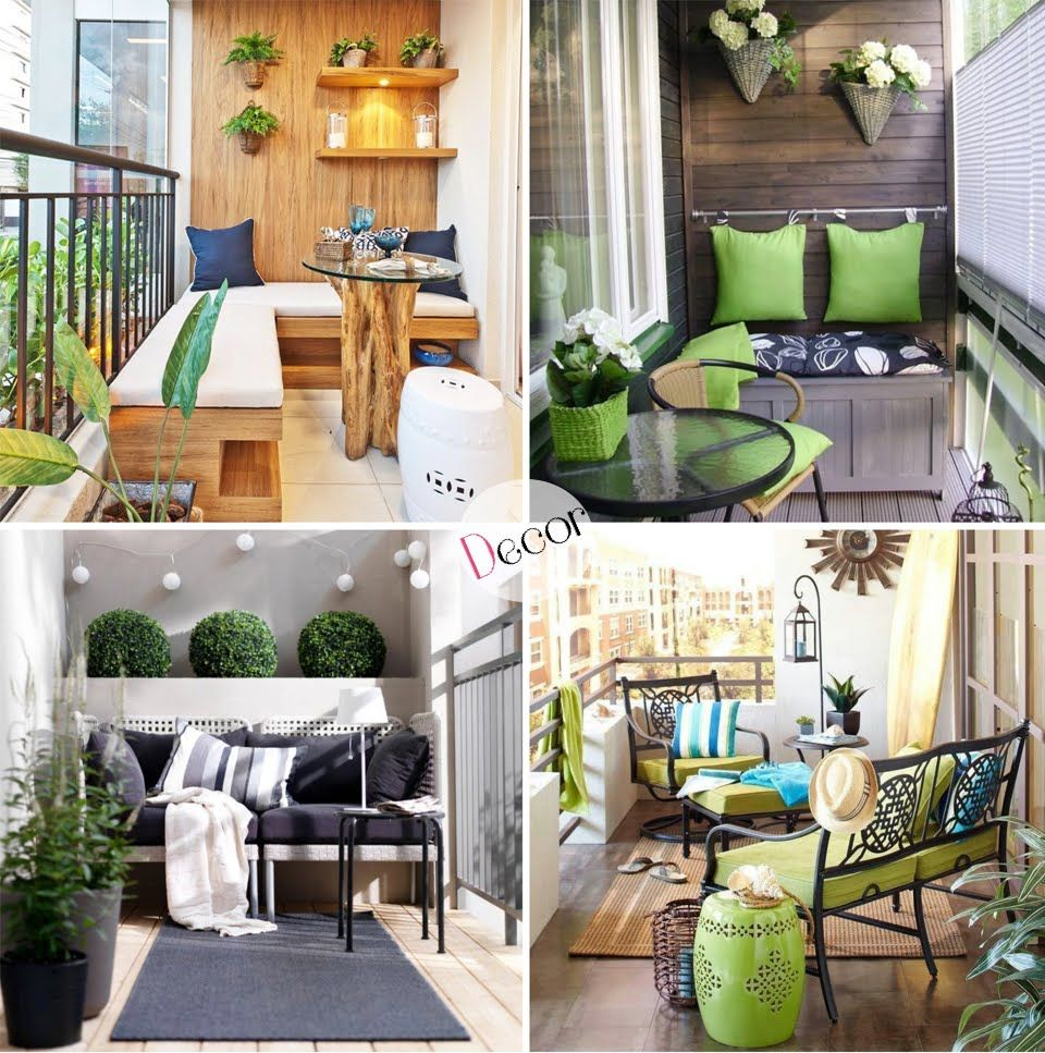 Decoraci n balcones en apartamentos outdoor living - Decoracion balcones ...