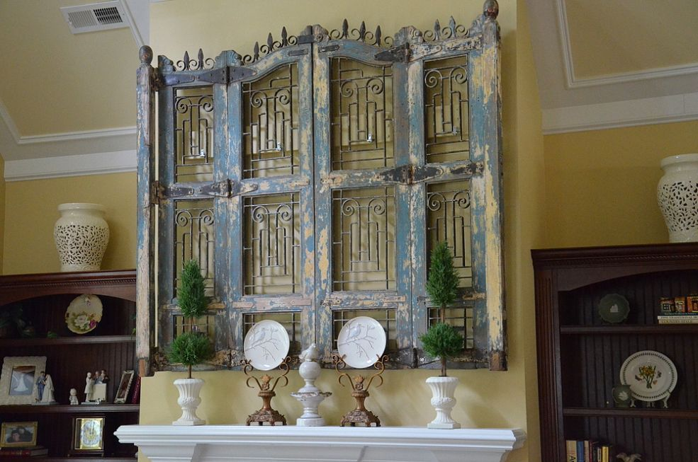 Antique Wood And Iron Shutters How To Antique Wood Old Window Shutters Old Shutters