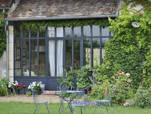 Petite maison grandes fen tres ce que j 39 aime case e - Finestre a bovindo ...