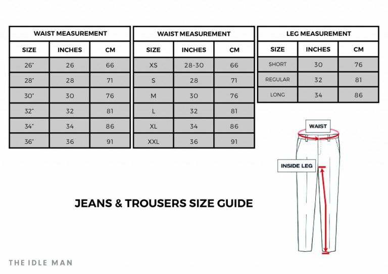 Trouser jeans trousers man size chart facebook messenger also pin by fashion brobot on charts and measurement guides rh pinterest