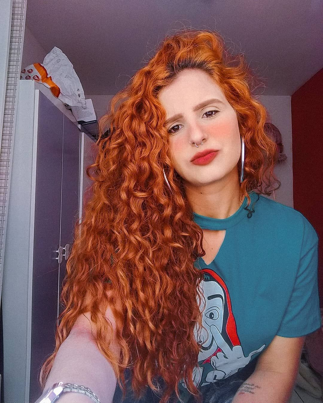 Curly Hairstyles For 3c Hair Hairstyles Boy S With Curly Hair Curly Hairstyles For 30 Year Old Em 2020 Cor De Cabelo Ruivo Cabelo Ruivo Cabelos Ruivos Encaracolados
