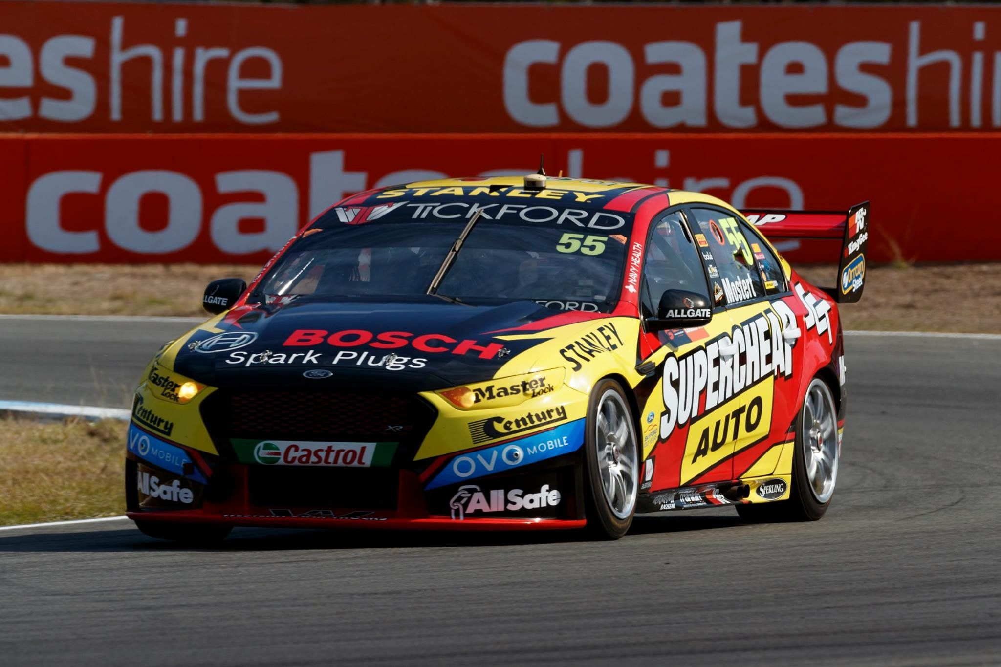 Pra Chaz Mostert 2017 Qld Raceway V8 Supercars Australia Super Cars Australian V8 Supercars