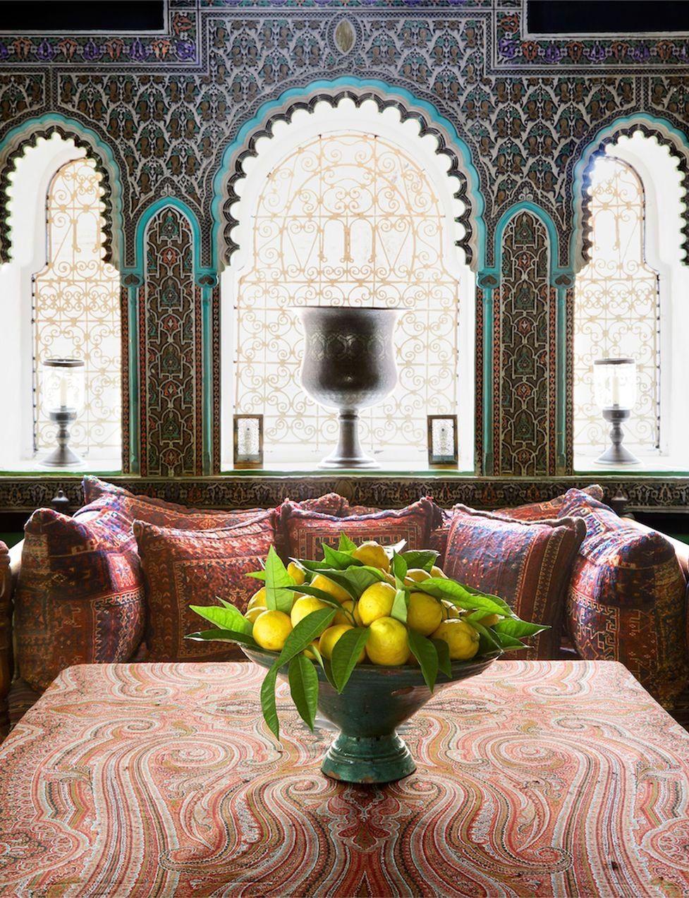 Arredare Casa Stile Marocco yves saint laurent's private moroccan villa (con immagini
