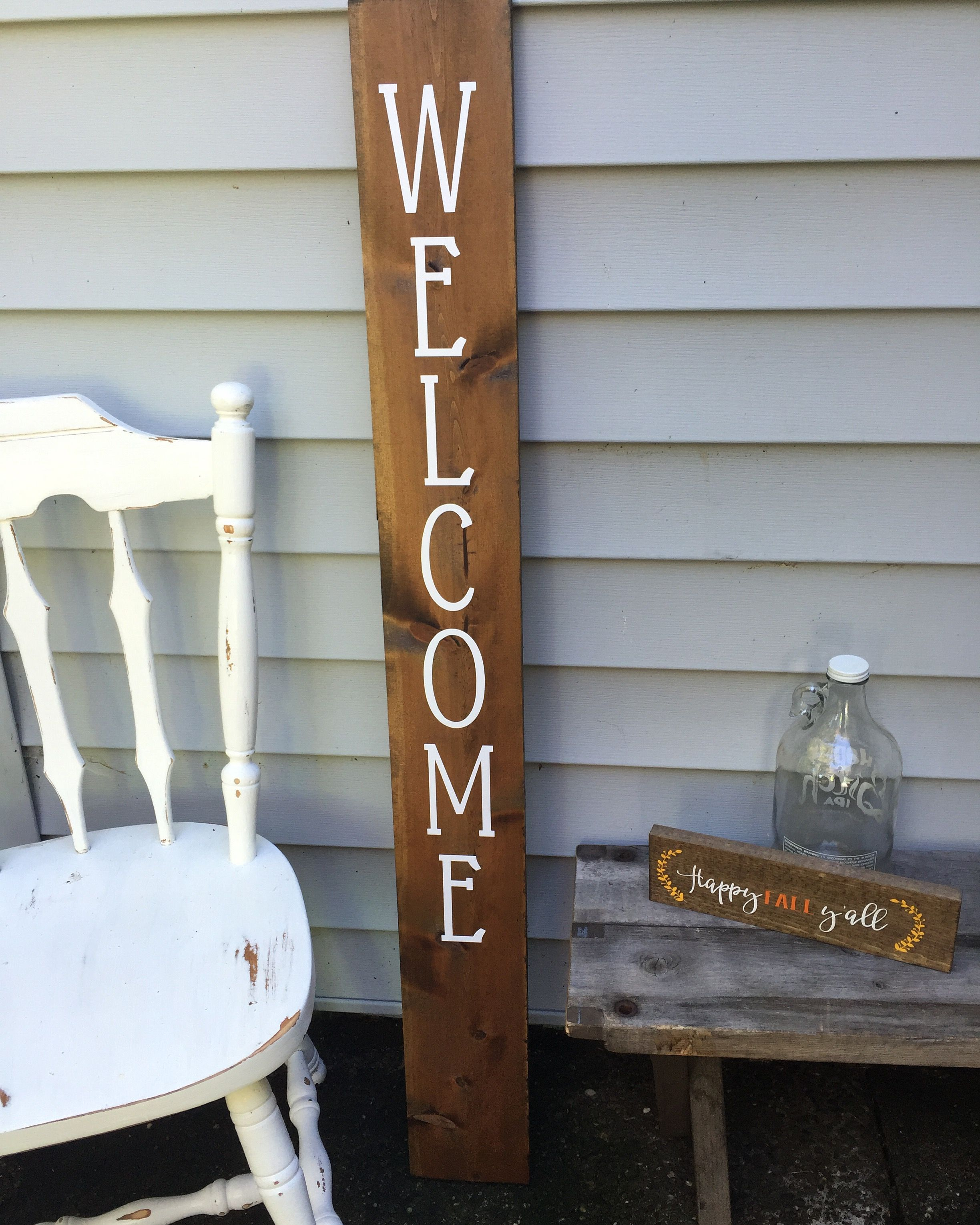 Welcome sign for the front door available at facebook welcome sign for the front door available at facebookkarterdesigns rubansaba