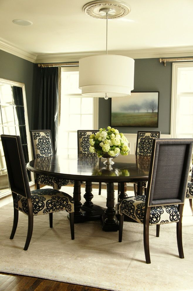 Saladejantardecorada 66  Decoração De Casas  Pinterest Interesting Traditional Dining Room Chairs Inspiration Design