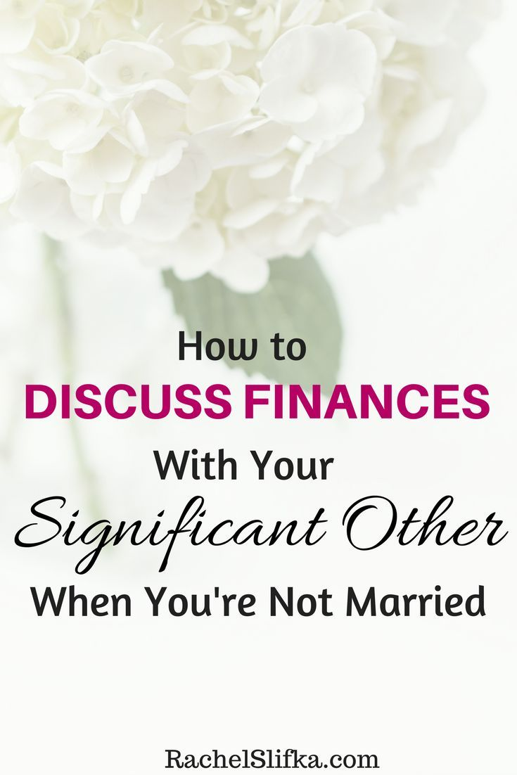 Marriage financial differences in dating