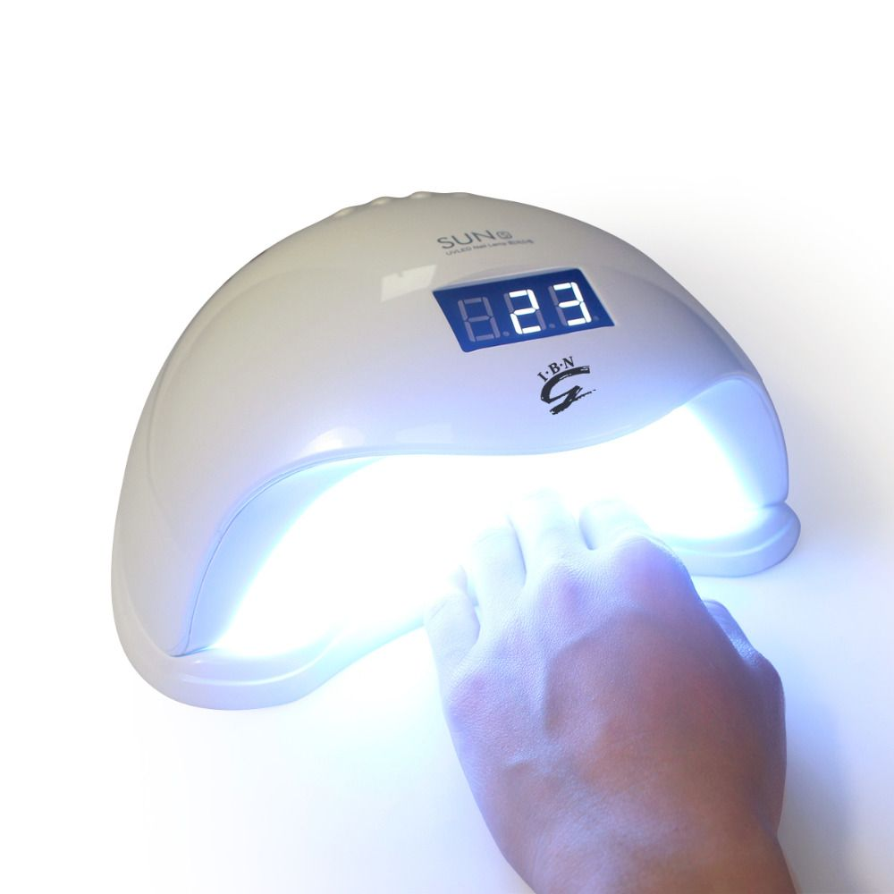 SUN5 Gel Nail Dryer 48W LED UV Dryer Lamp Fit Curing All Nail ...