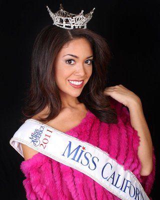 Noelle Freeman, #MissCalifornia 2011 portrait #MissAmerica #California