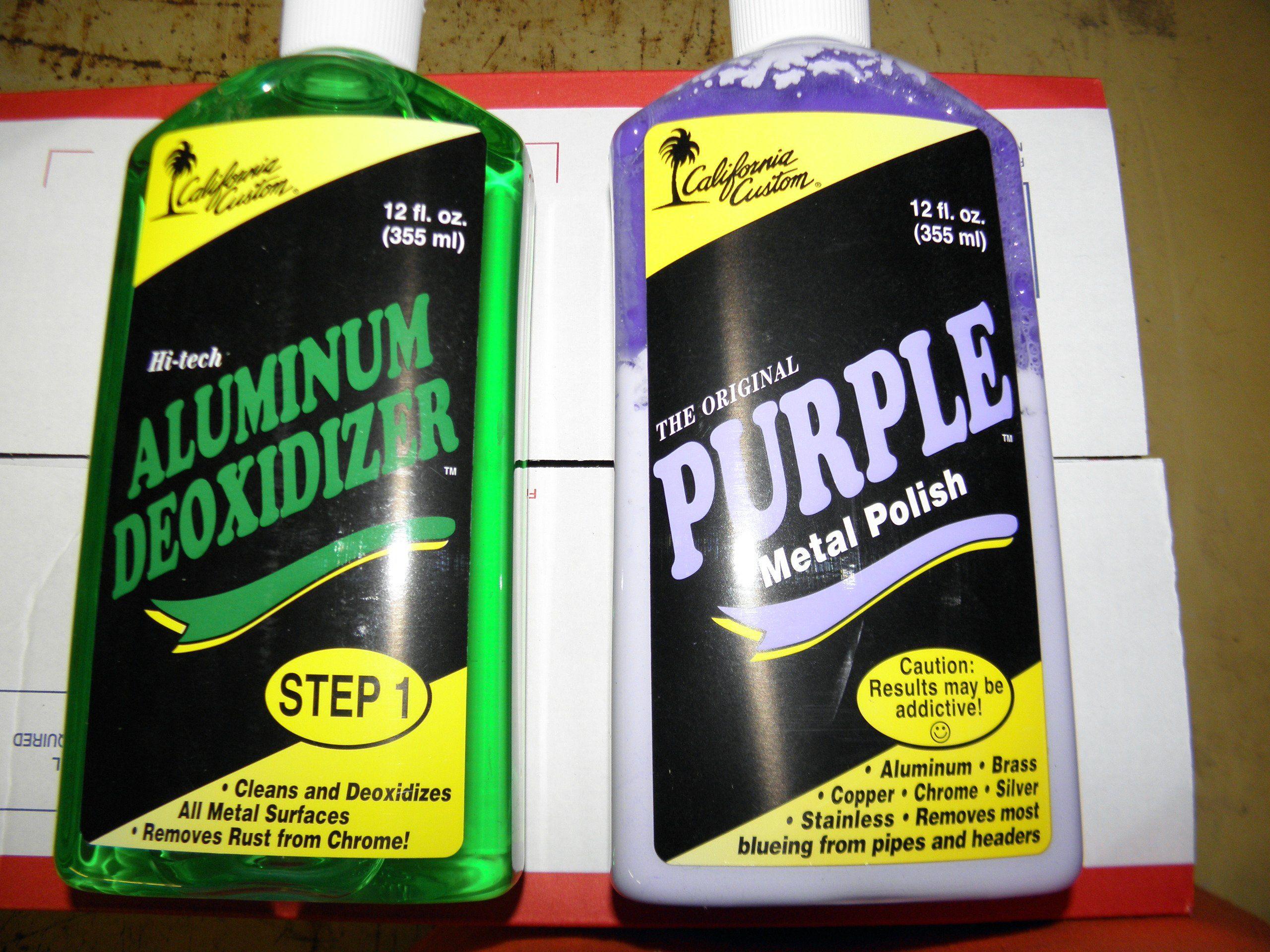 Purple Metal Polish/deoxidizer Combo   Metal Cleaning