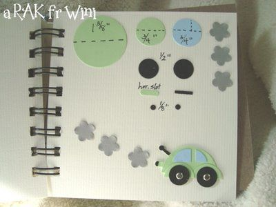 Tutorials To Share: Creative Art Punch Book  (this example has 18 ideas in a spiral-bound book)