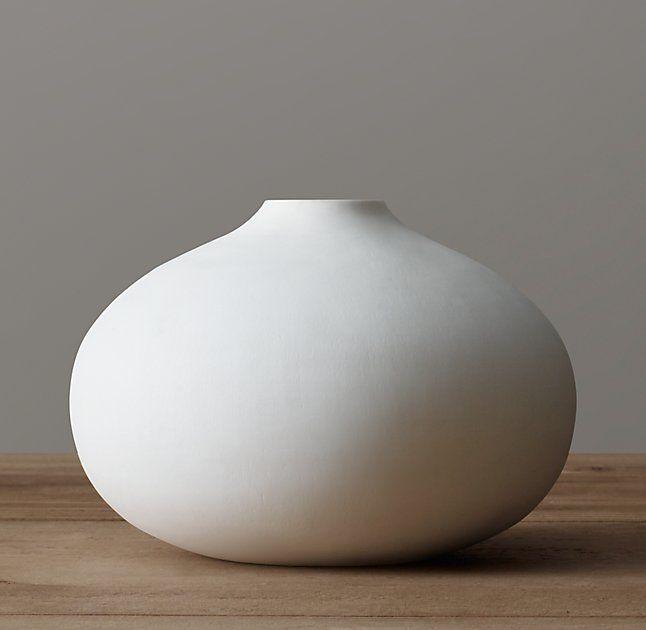 Matte White Glass Vase White Glass Large White Vase Vase