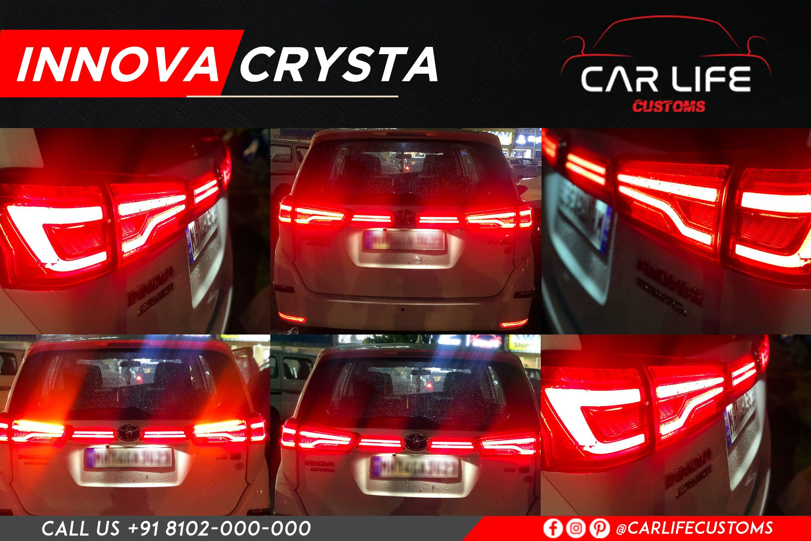 Branded Seat Covers Chandigarh When Toyota Innova Crysta Is Updated With The Stunning Yet Exclusive Matrix Indicators And Toyota Innova Automotive Design Life