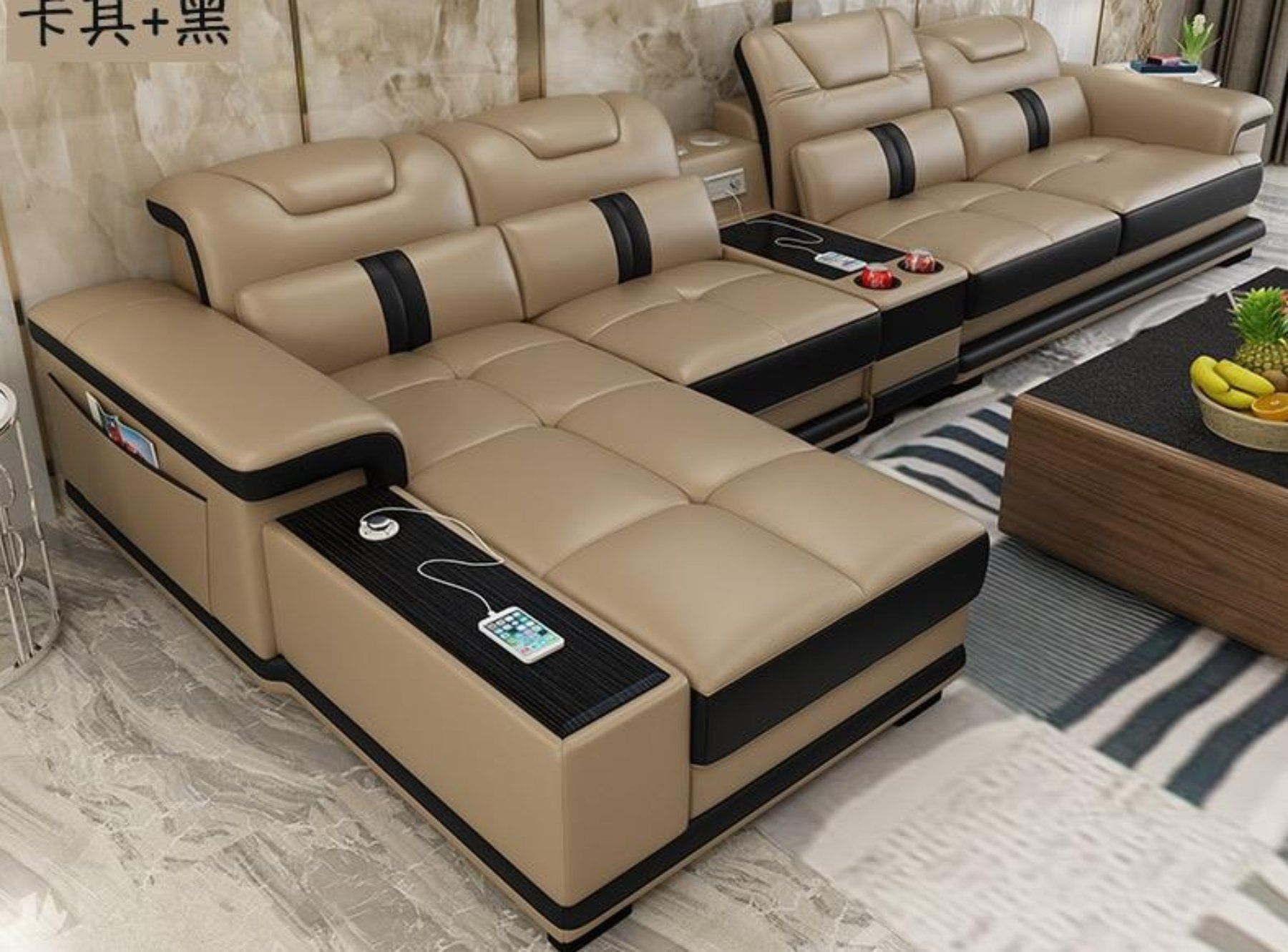 Sectional Comfort Leather Sofa For Home Furniture Living Room Sofa Set Living Room Leather Leather Sofa Living Room