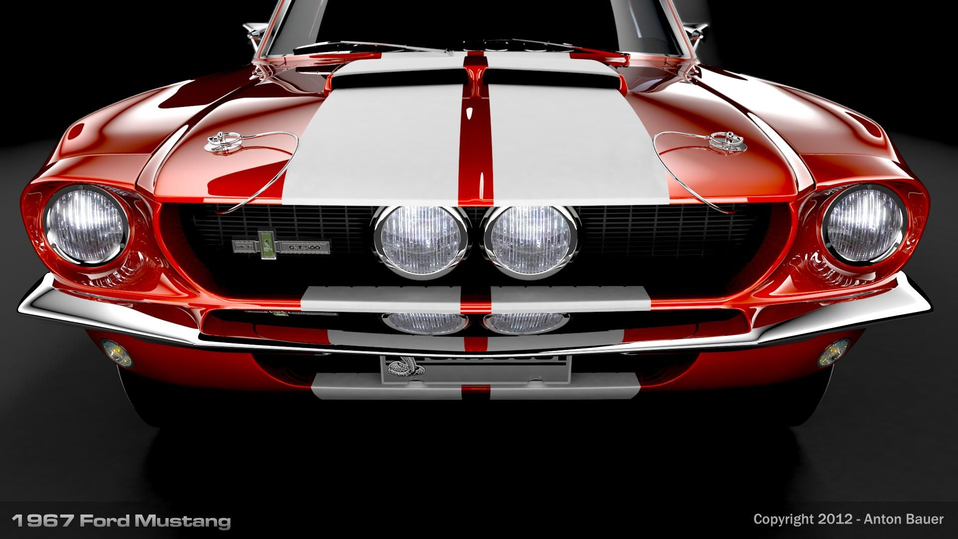 1967 Mustang Wallpapers Wallpaper Cave Classic Muscle Cars