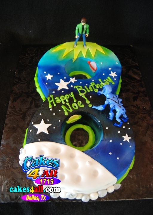 Number 8 Cut Out Cake Cakes Numeros Pinterest Number Cake And