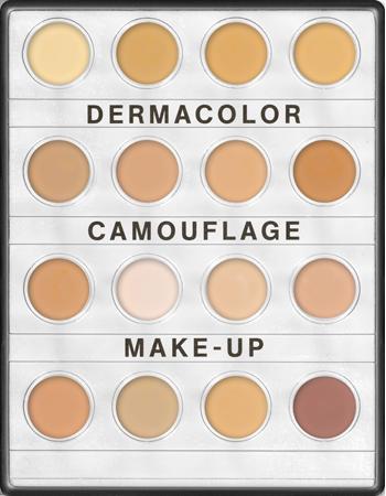 Dermacolor Camouflage Creme MiniPalette 16 Colors