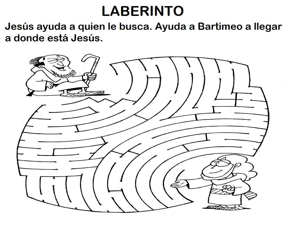 Presentación de la Historia del ciego Bartimeo . A continuación ...