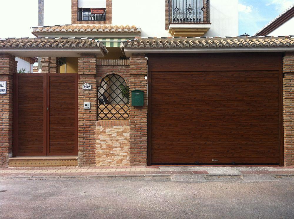 Instalaci n y venta de puerta garaje enrollable master - Puertas de metal para casas ...