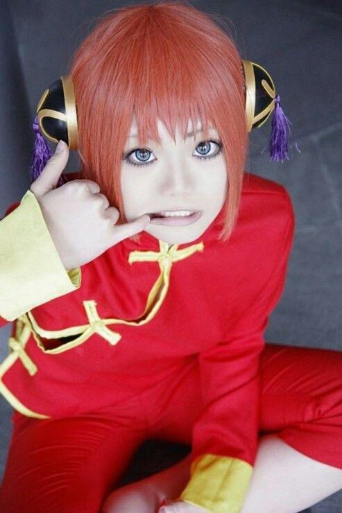 Kagura cosplay, Gintama