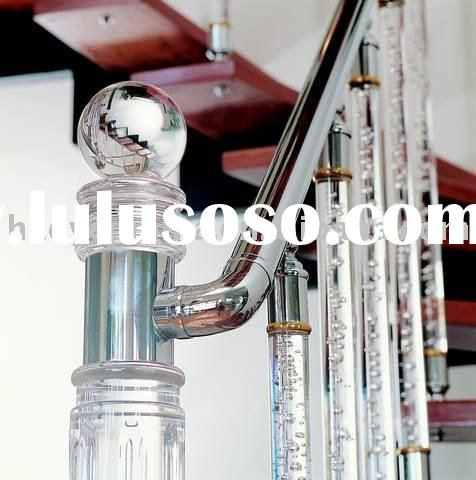 Best Indoor Staircase Baluster Acrylic Post Acrylic Handrail 640 x 480