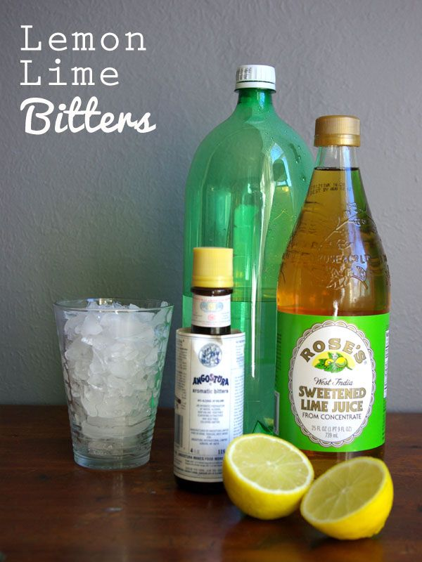 Lemon Lime Bitters Drink Recipe By At Oleanderandpalm Ksw Co