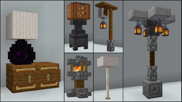 40 Lighting Build Hacks And Ideas Including Tutorial Video Minecraftbuilds In 2020 Minecraft Crafts Minecraft Designs Minecraft Decorations