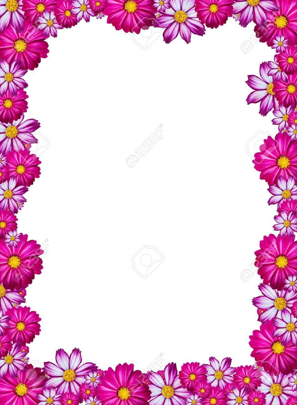 resultado de imagen para marco de flores fucsia marcos lindos pinterest searching. Black Bedroom Furniture Sets. Home Design Ideas