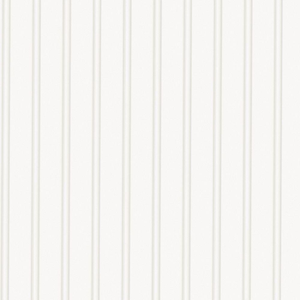 White Beadboard Paintable Wallpaper in 2020 White
