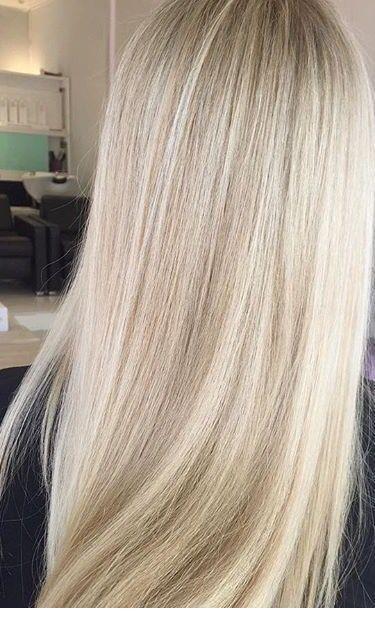 Light Blonde Straight Hair Inspiring Ladies Straight Blonde Hair Ombre Hair Blonde Hair Styles
