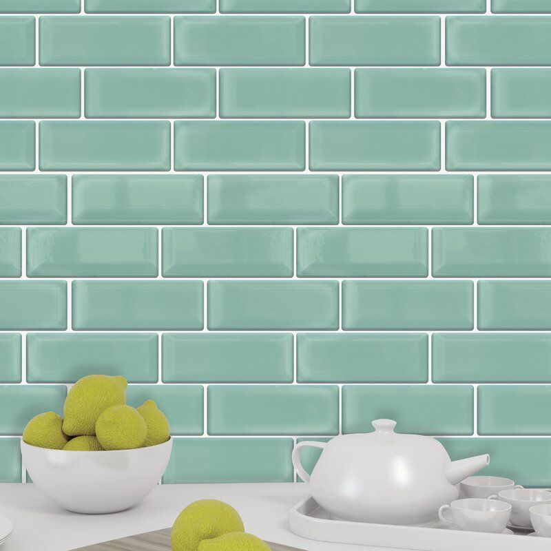 Walplus 15 Cm X 30 Cm Gel Peel Stick Mosaic Tile Reviews Wayfair In 2020 Stick On Tiles Mosaic Tiles Peel Stick Backsplash