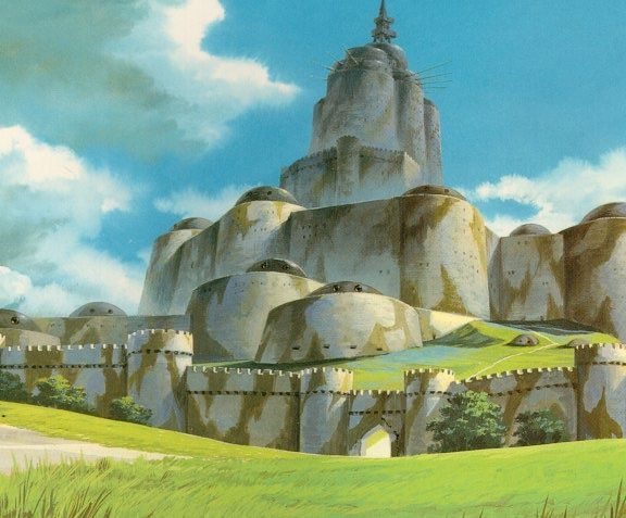 ティディスの要塞 Google 検索 ナウシカ 要塞 風の谷のナウシカ