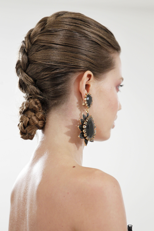 Oscar de la renta spring hair pinterest french braid