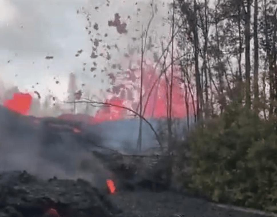 Volcan Kilahuea soltando lava sin parar (con imágenes