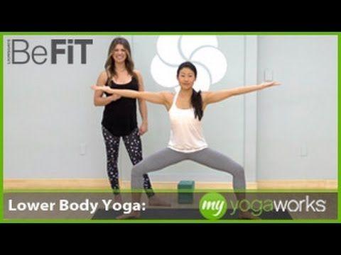 lower body yoga workout  myyogaworks alex crow  yoga