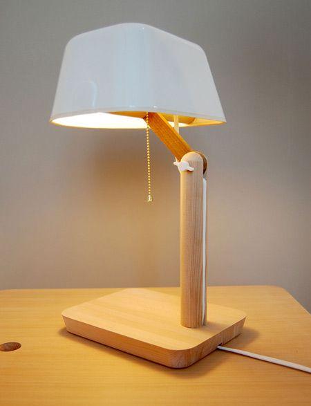 Studio Gorm | Table lamp, Desk lamp, Wooden tables