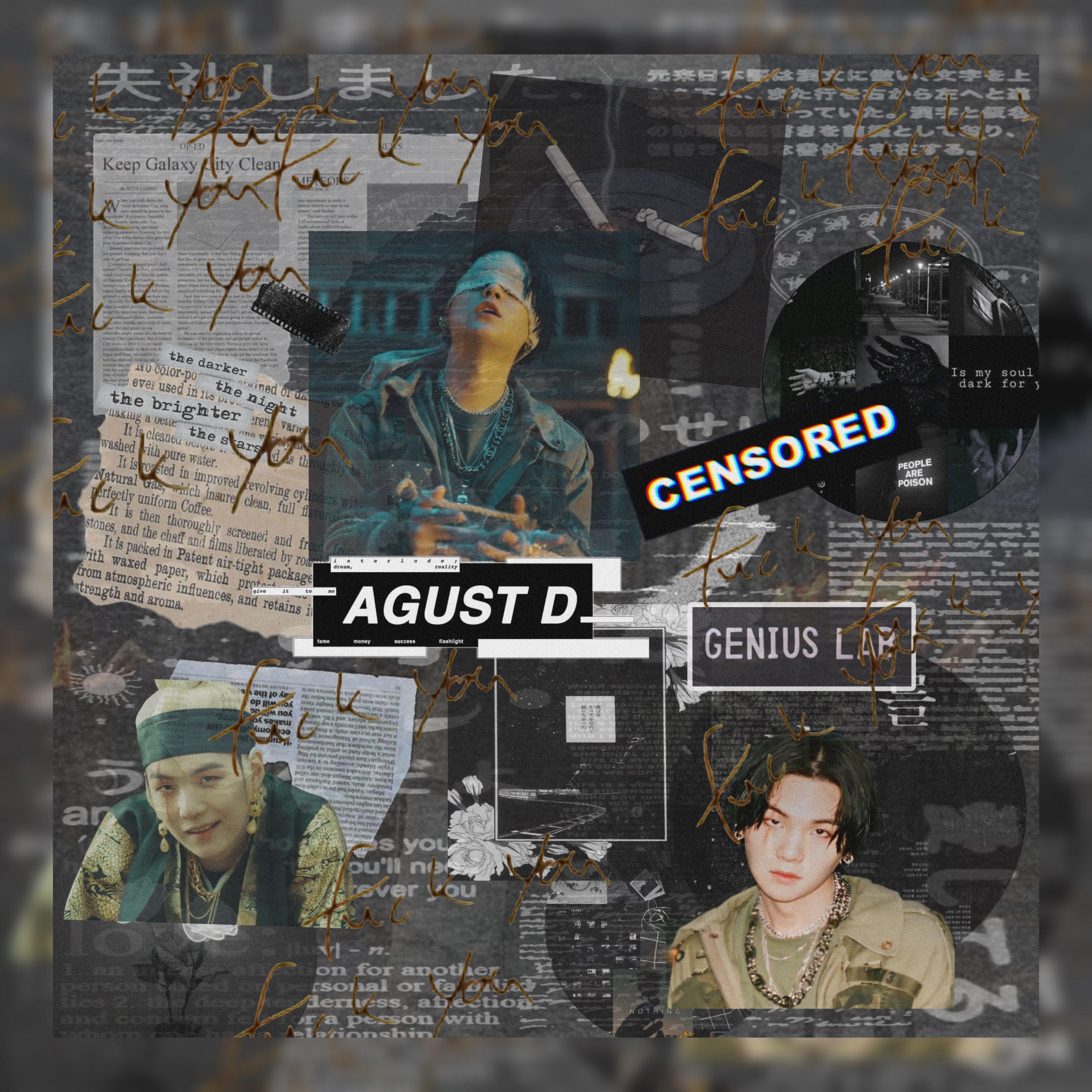 Agust D 2 Wallpaper in 2020   Dark souls, Agust d, Poster