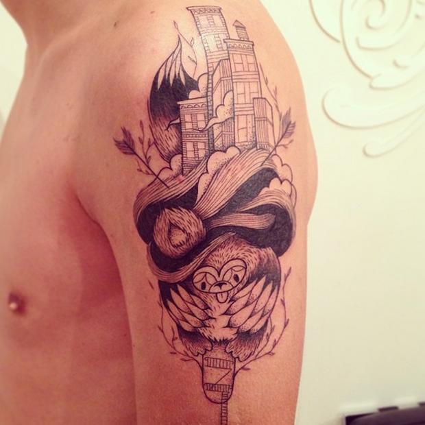45 Mesmerizing Surreal Tattoos That Are Wonderful: #tattoofriday – Supakitch