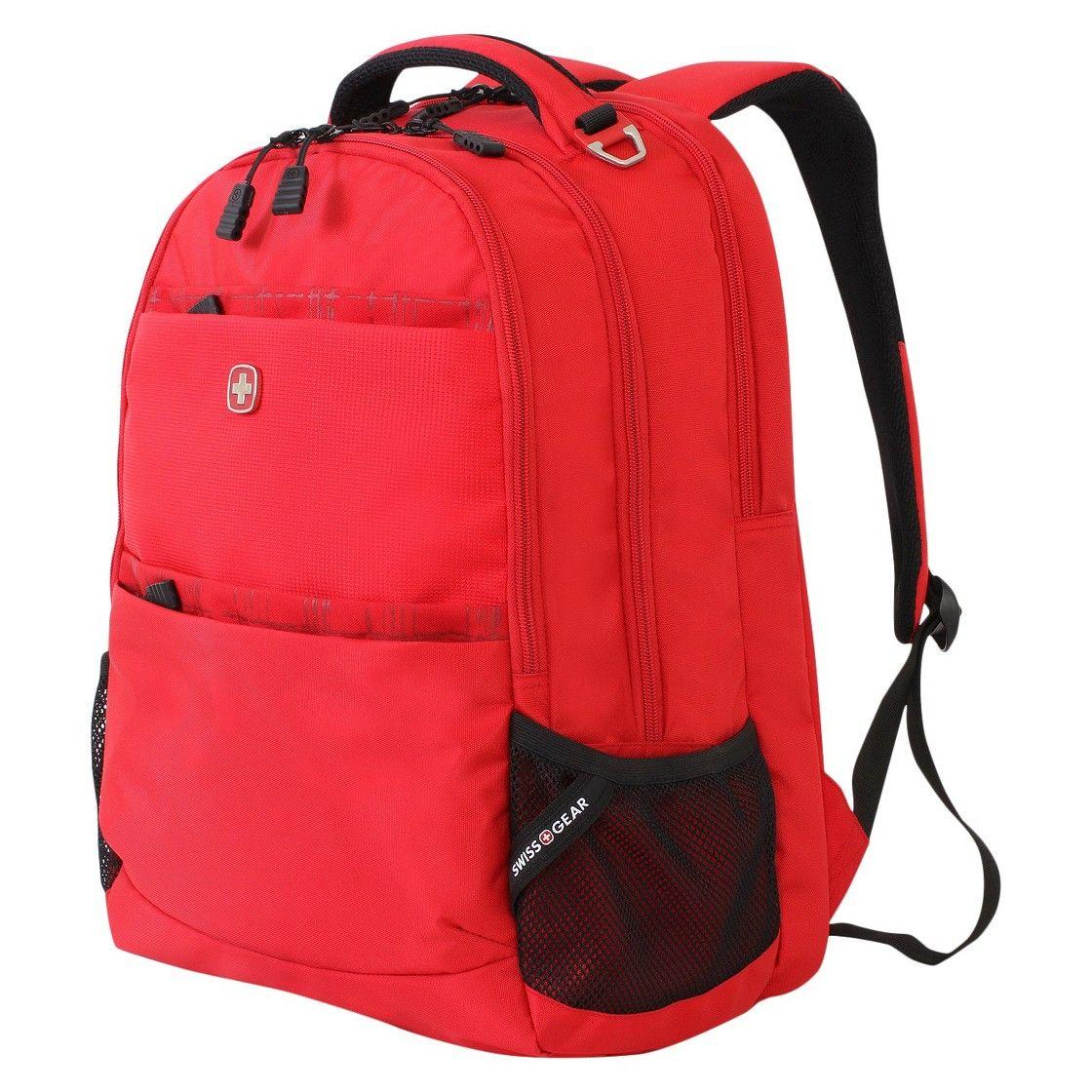 SwissGear Backpack - Solid Red | Laptop Backpack | Pinterest ...