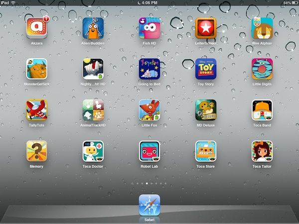 best free ipad apps for 1 year old