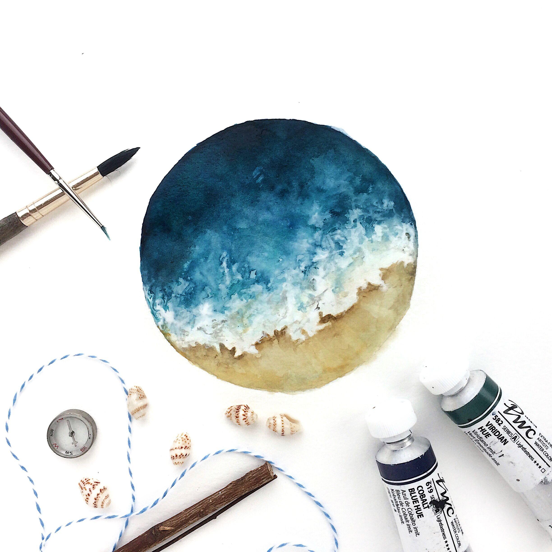 Rosies Sketchbook In The Mood To Paint More Ocean Scenes